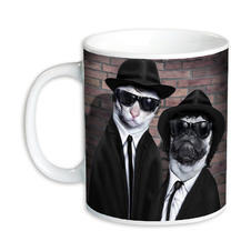 "Tasse Pets Rock ""Brothers"""