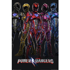 Poster Saban's Power Rangers -