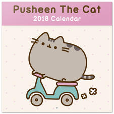 Calendrier 2018 Pusheen The Cat
