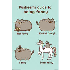 Poster Pusheen The Cat - Super Fancy