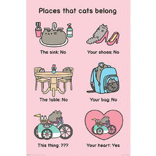 Poster Pusheen The Cat -