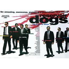 "Poster Reservoir Dogs ""Let's go"