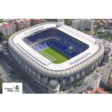 Poster du stade Real de Madrid