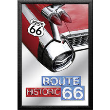 "Miroir Route 66 ""Historic '59 Cadillac"""
