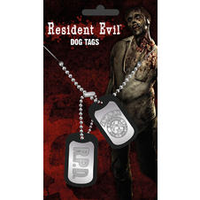 Dog Tags Resident Evil -