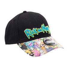 Casquette baseball Rick and Morty -