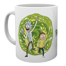 Tasse Rick and Morty - Portail
