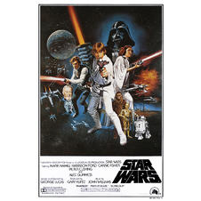 POSTER STAR WARS Episode IV
