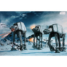 Poster Star Wars AT-AT Fighter