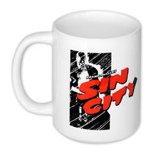 Tasse Sin City Comic Logo