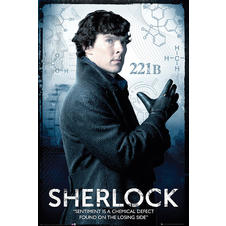Poster Sherlock Sentiment is a