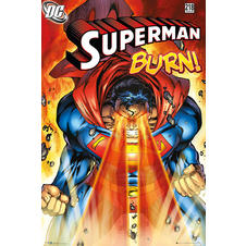 Poster Superman Burn!