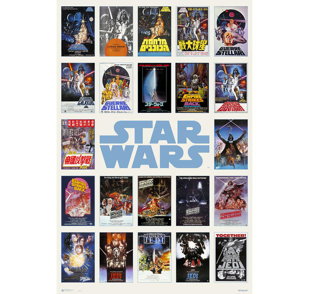 poster star wars affiche de film en vente sur close up. Black Bedroom Furniture Sets. Home Design Ideas