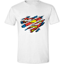 T-Shirt Superman Scratch Logo