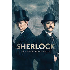 "Poster Sherlock ""The Abominable Bride/"