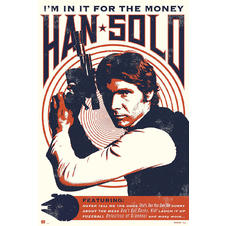 Poster Wars Poster Han Solo
