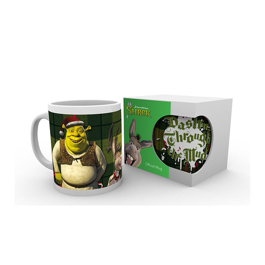 tasse shrek no l en vente sur close up. Black Bedroom Furniture Sets. Home Design Ideas