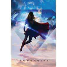 "Poster Supergirl ""Nuages"""