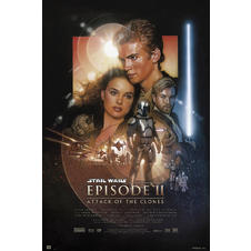 Poster Star Wars : Épisode II