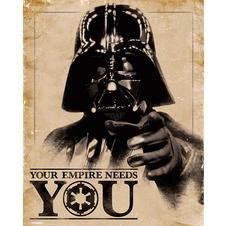 Poster Star Wars Dark Vador