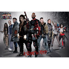 Poster Suicide Squad -