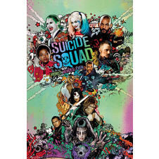 Poster Suicide Squad One Sheet -