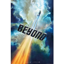 Poster Star Trek Beyond - Nuages