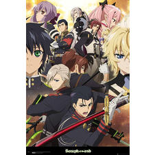 Poster Seraph of the End - Personnages