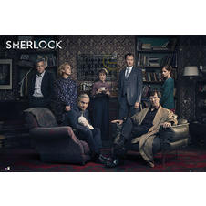 Poster Sherlock - Personnages