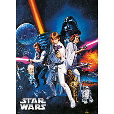 Poster métallique Star Wars -