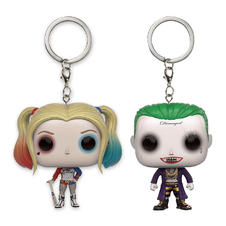 Set de 2 porte-clés Pocket Pop! Vinyl Suicide Squad -
