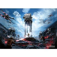 Poster XL Star Wars Battlefront -