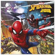 Calendrier 2018 Marvel -