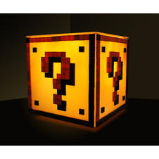 Lampe de table Super Mario -