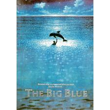 Poster le grand Bleu (en anglais The Big Blue)