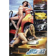 Poster The Fast and the Furious 2