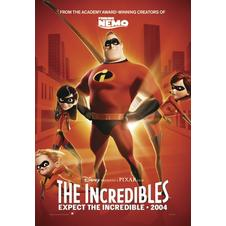 THE INCREDIBLES POSTER, Affiche