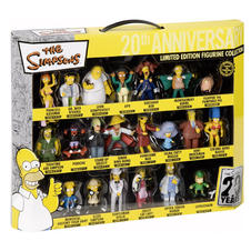 Set de figurines Les Simpson