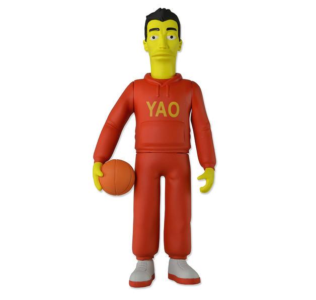 Les simpson 25 me anniversaire figurine d 39 action yao ming - Simpson anniversaire ...