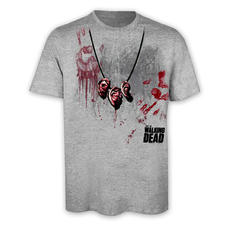 T-shirt The Walking Dead Collier oreilles de