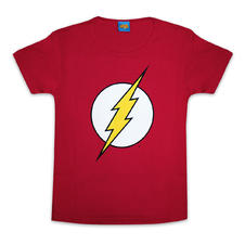 T-shirt girlie The Flash Logo