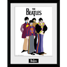 Imprimer de collectionneur The Beatles