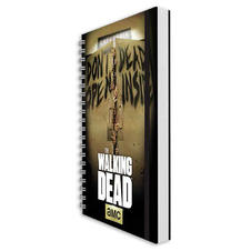 "Calepin DIN A5 The Walking Dead ""Don´t Open, Dead Inside"""