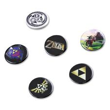 Set de 6 boutons The Legend of Zelda