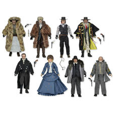 Set de 8 figurines d'action Les Huit Salopards