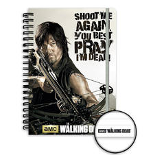 Calepin Din A5 The Walking Dead