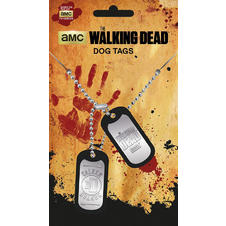 Dog Tags The Walking Dead -