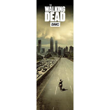 Poster de porte The Walking Dead -