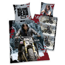 Drap de lit réversible The Walking Dead -