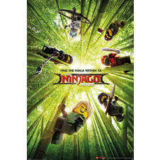Poster The LEGO Ninjago Movie -